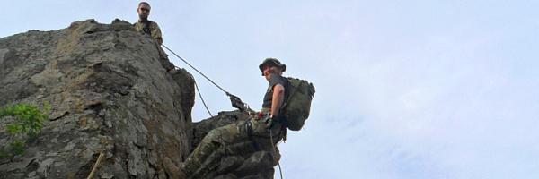 Полевой выход Саламандра, горная подготовка и основы спасательных работ