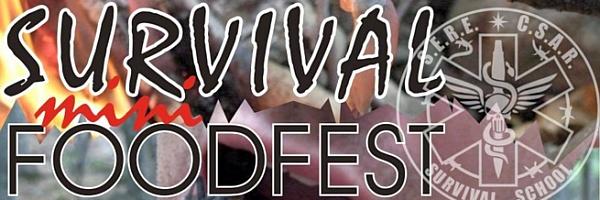 Мини-фестиваль экстремальной кухни Survival food mini-fest, обеспечение жизнедеятельности в полевых условиях