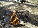 Обеззараживание воды в походных условиях марганцовкой, поворотный кронштейн для костра и простейшие снегоступы