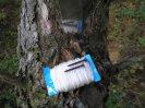 Коррозия стержня китайского огнива, применение саморезов по дереву в походе, некачественный сухой спирт