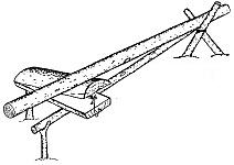 Особенности установки и настройки деревянной ловушки-плашки давящего типа на пушного зверя