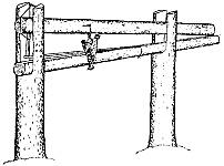 Челачная насторожка ловушки кулемки изготавливается так же, как и для плашки