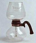 Вакуумный метод приготовления кофе, вакуумный сосуд Cona