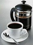 Французский пресс или кофеварка плунжерного типа для приготовления кофе