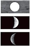 Ориентирование на местности и определение сторон горизонта по Луне