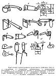Проволочные давящие капканы, кротоловки продольного действия, устройство и изготовление, размеры и форма капкана на кротов