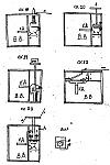 Разгрузочные реверсные электрозамыкатели на схемах