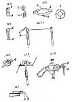 Простые механические замыкатели для ловушек, реагирующие на механические колебания и изменения положения чувствительного элемента, особенности конструкции и установки