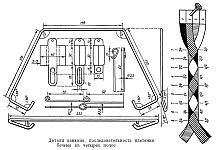 Изготовление капкана с пружинами торсионного действия, детали и размеры