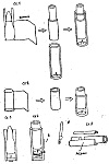 Конструкции стреляющих ловушек с ударными механизмами и воспламенителем, общий принцип действия