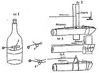Конструкции стреляющих ловушек с терочным воспламенителем, принцип работы и действия