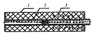 Конструкции глушителей звука выстрела содержащих центральную перфорированную или сетчатую трубку