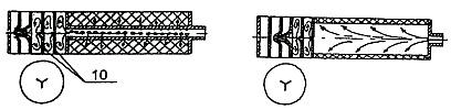 Конструкции глушителей звука выстрела использующие упругие деформируемые элементы обтюраторы