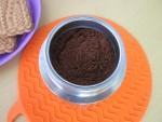 Для молотого кофе Nicola Rossio используются зерна средней прожарки и среднего помола
