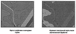 Только в векторных картах возможна разгрузка карты от изображений некоторых физических объектов