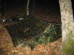 Аварийная вынужденная ночевка без костра и без строительства укрытия