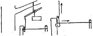 Настораживающиеся фиксаторы и спусковые механизмы ловушек на животных использующие планки-коромысла, палочки-распорки, распорные планки, легко выдергиваемые петли, кольца и колышки