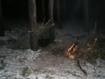 Подготовка места для разведения костра, разжигание костра, применение костра для обогрева и сушки одежды, обуви и снаряжения