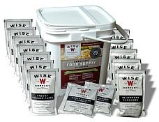 Сублимированные продукты Wise Food Company, комплекты сублимированных продуктов с длительными сроками хранения, аварийные запасы продуктов
