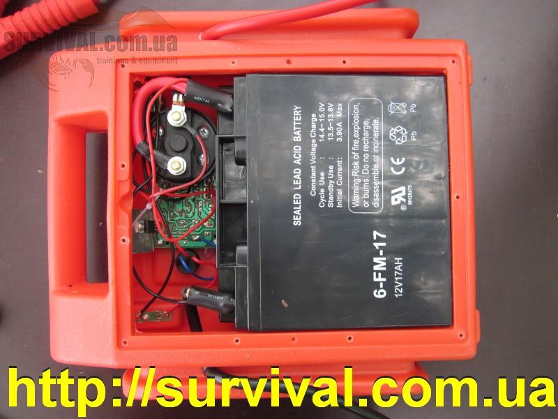 Пусковое устройство из аккумулятора
