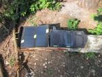Солнечные панели Allpowers X-Dragon 14 Watt и Goal Zero Nomad 7 Watt в рабочем положении