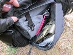 Внутреннее пространство фронтальных карманов тактической сумки 5.11 Tactical Side Trip Briefcase организовано просто превосходно