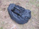 Тактическая сумка 5.11 Tactical Side Trip Briefcase с одетым сверху чехлом от дождя
