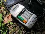 Компактное автоматическое зарядное устройство ATABA AT-998 для Ni-Cd и Ni-Mn аккумуляторов AA и AAA, с автоадаптером, ЖК дисплеем, функцией разряда, заряда, контроля уровня заряда батарей