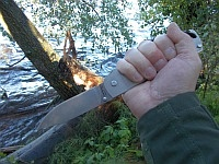 Так что Cold Steel Pocket Bushman вполне пригоден для карманного ношения