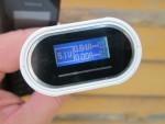 На дисплее Soshine E4 выводится выходное напряжение и ток заряда аккумулятора 18650