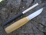 Полевые тесты и испытания авторского ножа Фин от ножевого мастера Коломиец
