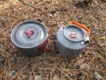 Походный чайник Feast T4 и походный котелок FMC-212S от Fire-Maple в качестве набора походной посуды
