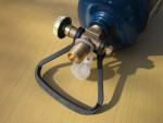 Кран кемпингового газового баллона GZWM BT-0.5