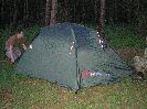 Туристическая трехместная палатка Hannah COVERT II, характеристики, устройство, обзор и установка палатки