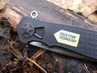 Система Field Strip которой оснащен складной нож CRKT Homefront EDC предназначена для разборки и сборки ножа без инструментов