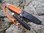 Правка и заточка ножа Игла в полевых условиях
