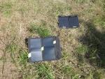Работа USB тестера KCX-017 вместе с солнечной панелью при зарядке аккумуляторов мобильных устройств