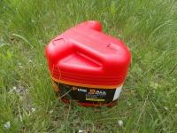 Для удобства хранения и переноски обогреватель Kovea Fireball оборудован складной ручкой и упакован в пластиковый бокс