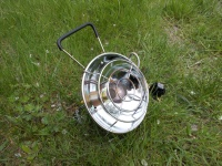 Kovea Fireball может использоваться не только для обогрева, но и для подогрева или приготовления пищи