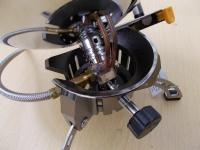 Для обеспечения стабильной работы на холоде в конструкции обогревателя предусмотрена система предварительного подогрева газа Anti-Flare System