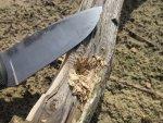 Полевой тест авторского ножа Памятный
