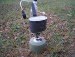 Компактная складная газовая горелка Primus Micron Stove, характеристики, особенности конструкции, обзор