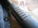 Рукоять ножа Орлан-2 выполненная из резинопластика Elastron G достаточно удобна