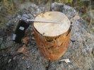 Изготовление деревянного примуса или индейской свечи