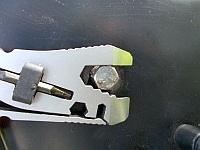 Ключ рожковый на болты и гайки дюймового размера на Leatherman Piranha 2