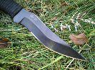 Туристический нож Пиранья относится к категории ножи разделочные и шкуросъемные