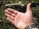 Тест ножа Пиранья при разведении костра и на дереве