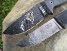 Ножи выживания Fallkniven F1 и Rat Cutlery RC-3P, сравнительный тест, обзор и рабочие качества ножей