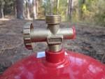 Газовая горелка, комплект Golden Lion RUDYY Rk-2 VIP с перезаправляемым газовым баллоном, для автотуристов и кемпинга, как аварийный или резервный для дома, на случай отключения электричества или газа