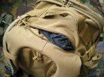 В верхней части рюкзака RUSH 72 Backpack расположен небольшой внутренний флисовый карманчик